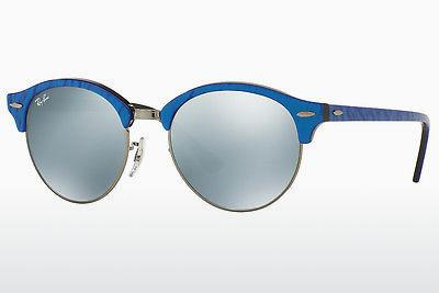 Ophthalmic Glasses Ray-Ban Clubround (RB4246 984/30) - Blue, Black