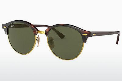 Ophthalmic Glasses Ray-Ban Clubround (RB4246 990) - Brown, Havanna