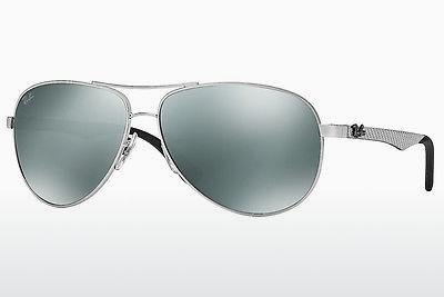 Ophthalmic Glasses Ray-Ban CARBON FIBRE (RB8313 003/40) - Silver