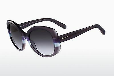 Ophthalmic Glasses Salvatore Ferragamo SF793S 025 - Grey, Blue