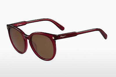 Ophthalmic Glasses Salvatore Ferragamo SF816S 525 - Red