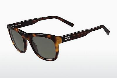 Ophthalmic Glasses Salvatore Ferragamo SF825SG 214 - Tortoise