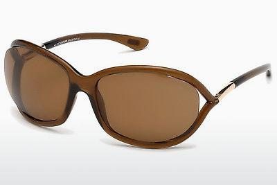 Ophthalmic Glasses Tom Ford Jennifer (FT0008 48H) - Brown