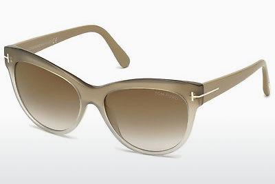 Ophthalmic Glasses Tom Ford Lily (FT0430 59G) - Horn, Beige, Brown