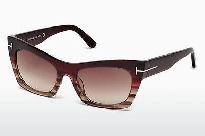 Ophthalmic Glasses Tom Ford Kasia (FT0459 71F) - Burgundy, Bordeaux