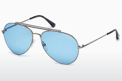 Ophthalmic Glasses Tom Ford Indiana (FT0497 14V) - Grey, Shiny, Bright