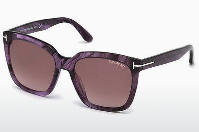 Ophthalmic Glasses Tom Ford Amarra (FT0502 83T) - Purple