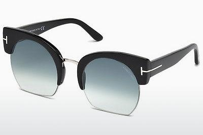 Ophthalmic Glasses Tom Ford Savannah (FT0552 01W) - Black, Shiny