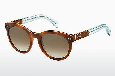 Ophthalmic Glasses Tommy Hilfiger TH 1291/N/S M9G/J6 - Brown, Havanna, Blue