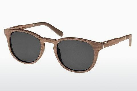 Ophthalmic Glasses Wood Fellas Bogenhausen (10762 walnut/grey)