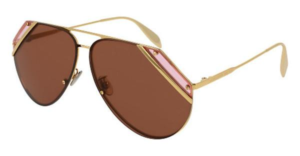 Alexander McQueen AM0092S 005 COPPERGOLD