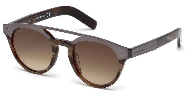 Dsquared2 Sonnenbrille » DQ0235«, braun, 62F - braun/braun