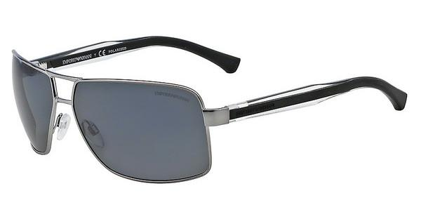 Emporio Armani Herren Sonnenbrille » EA2001«, grau, 301081 - grau/grau