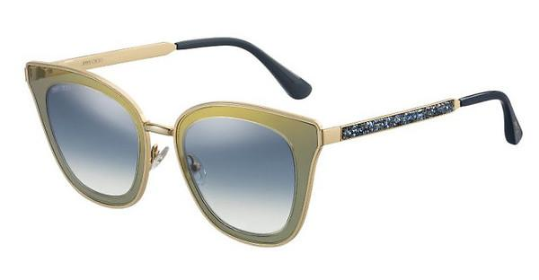 1db0887b98b6a Details about NEW Jimmy Choo Lory S KY2 08 Blue Gold   Blue Gradient  Sunglasses