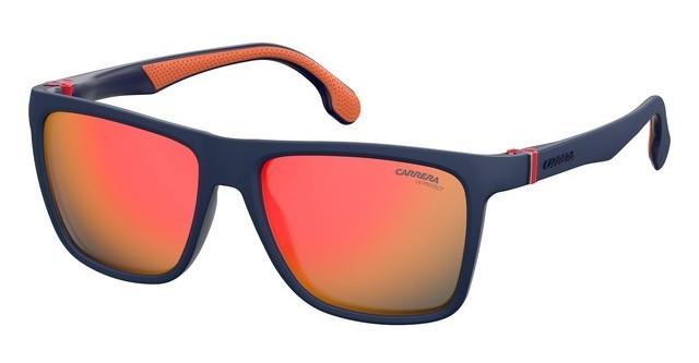 Lunettes de soleil Carrera 5047//S apprentissage UW Matte Bleu Orange Miroir Flash