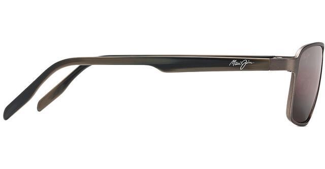 NEW Maui Jim Glassbeach R748-22A Brushed Sand Unisex Sun Polarised