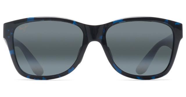 Maui Jim 435-03J ROAD TRIP Sunglasses Blue Black Tortoise Frame Polarized Neutral Grey Lens