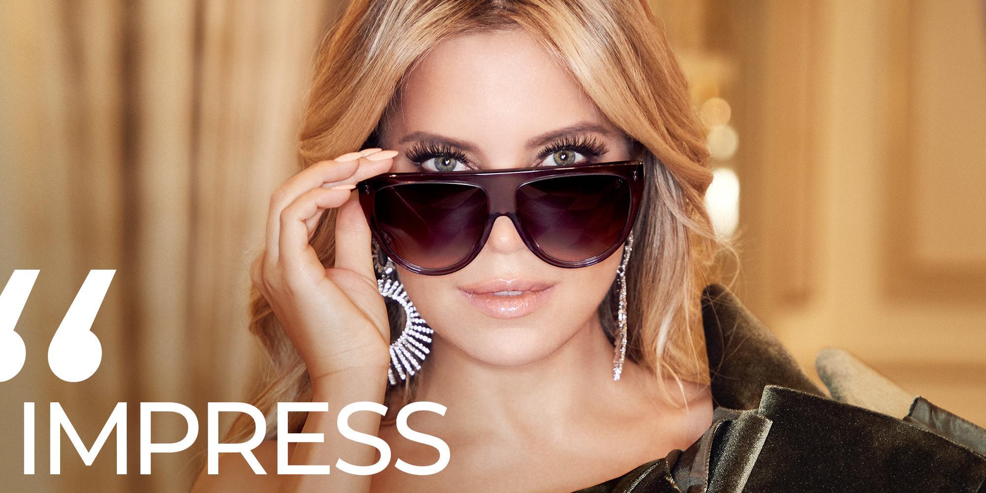 Sylvie Meis präsentiert eigene Sonnenbrillen Kollektion