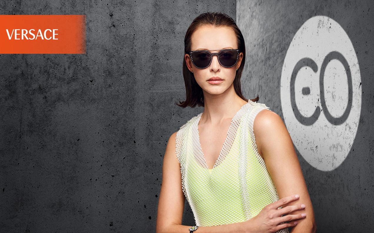 Acheter des lunettes de soleil Versace en ligne à prix très bas e224669414c7